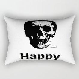 Happy Face Rectangular Pillow
