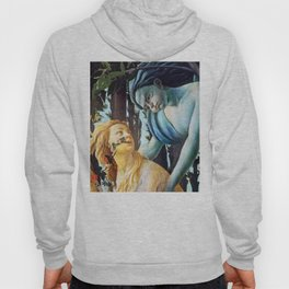 "Sandro Botticelli ""Primavera"" Chloris and Zephyrus Hoody"