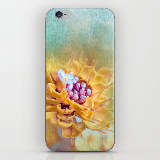 VARIE SQUARE - Floral and painterly texture work iPhone & iPod Skin