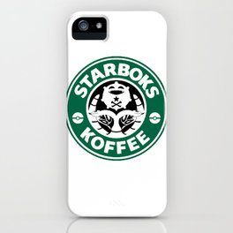 Starboks Koffee iPhone Case