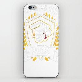 Class-of-2018---Class-of-2018-Graduation-T-Shirt iPhone Skin