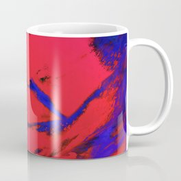 Fractured anger red Coffee Mug