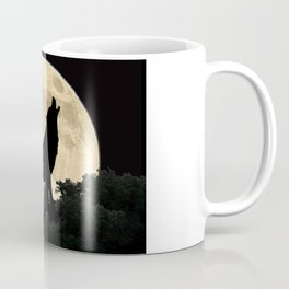 Wolf Howling at the Full Moon A303 Coffee Mug