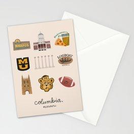 Columbia, Missouri Stationery Cards