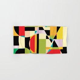 Geometric Abstraction Hand & Bath Towel
