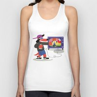 rap Tank Tops featuring Rap Game by Lily's Factory