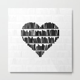 Book Lover II Metal Print