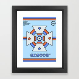 azacca single hop Framed Art Print
