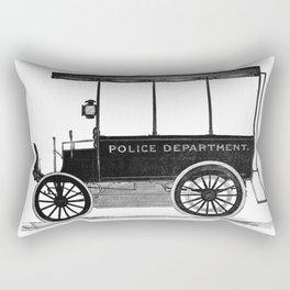 Police car Rectangular Pillow