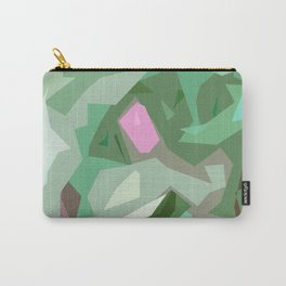 Abstract Camouflage Carry-All Pouch