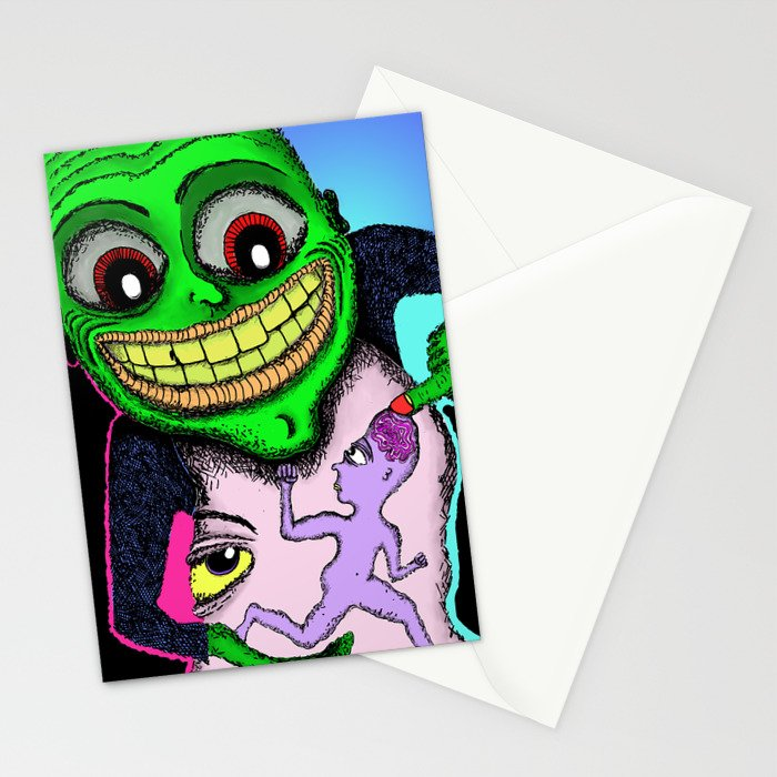 I'd Love to Pick Your Brain Stationery Cards
