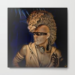 The Dude (He's Cool) Metal Print