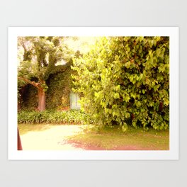 The Garden Door Art Print