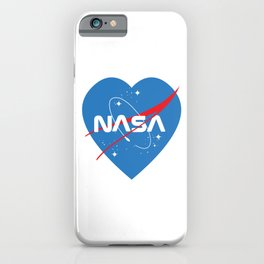 Love Nasa iPhone Case