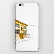 Yellow San Francisco Haus iPhone & iPod Skin