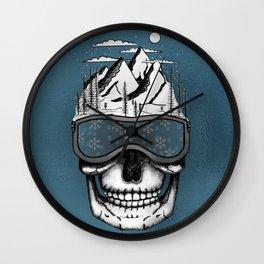 Skullorado v2 Wall Clock