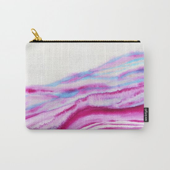 AGATE Inspired Watercolor Abstract 08 Carry-All Pouch
