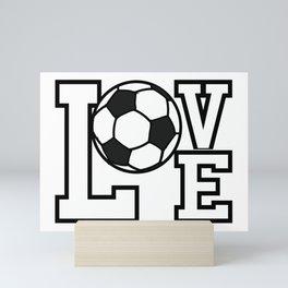 Soccer Lovers Mini Art Print