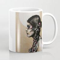 native Mugs featuring Native by Mo Baretta