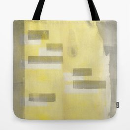 Stasis Gray & Gold 1 Tote Bag