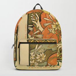 Art Deco Paris Backpack