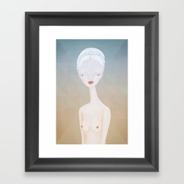 nude2 Framed Art Print