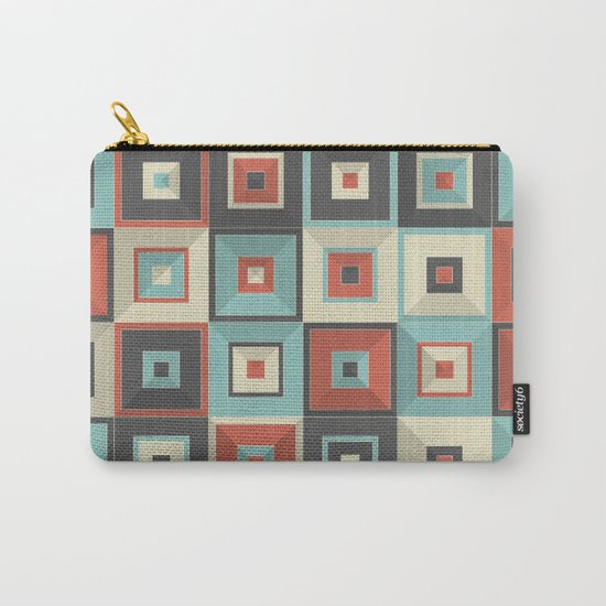 Lost in Squares V Carry-All Pouch