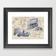 Dreaming Projects Framed Art Print