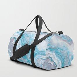 Ocean Foam Mermaid Marble Duffle Bag