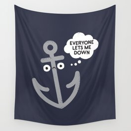That Sinking Feeling Wall Tapestry