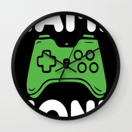 Game zone controller Wall Clock