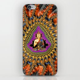 Buddha Mandelbrot Set iPhone Skin