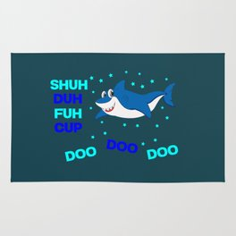baby shark funny sarcastic annoying song. Rug