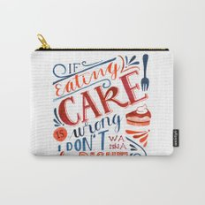 Cake Quote | Gilmore Girls Carry-All Pouch