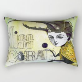 Miss scarab Rectangular Pillow