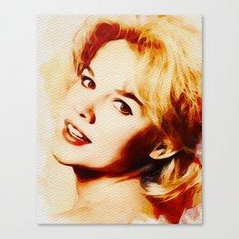 Carrol Baker, Hollywood Legend Canvas Print