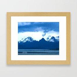 K-Bay Blues Framed Art Print