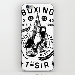 Boxing iPhone Skin