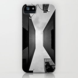 NYC can be dizzying sometimes iPhone Case