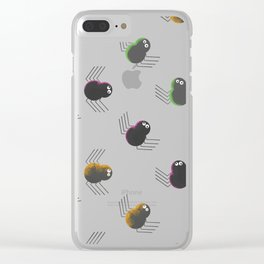Friendly Spiders Clear iPhone Case