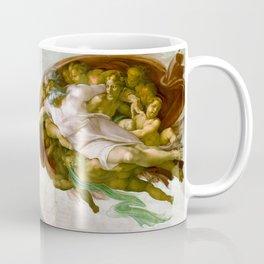 The Creation of Adam Painting by Michelangelo Sistine Chapel Coffee Mug