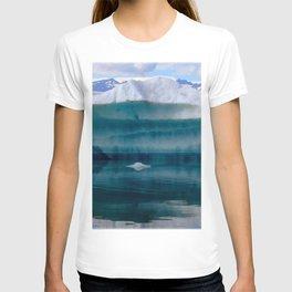 Watercolor Landscape, Jokulsarlon 04, Iceland T-shirt