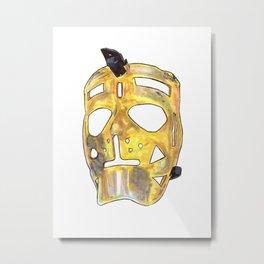Sawchuk - Mask Metal Print