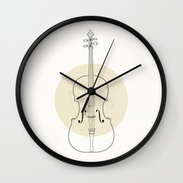 Cello II Wall Clock