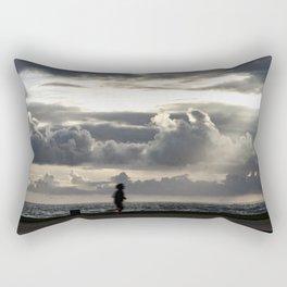 Cloudy! Rectangular Pillow