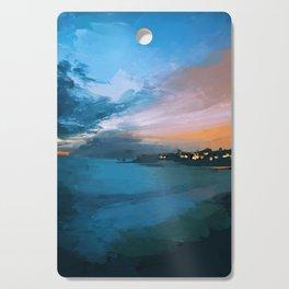 Laguna Beach At Night Cutting Board