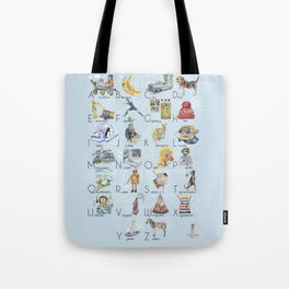 ABC English alphabet for boys Tote Bag