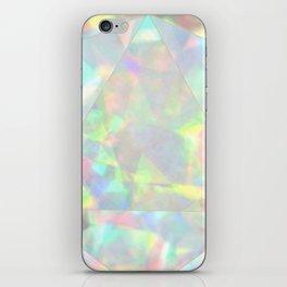 Milky White Opal iPhone Skin