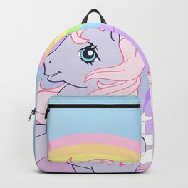 g1 my little pony lickety split Backpack