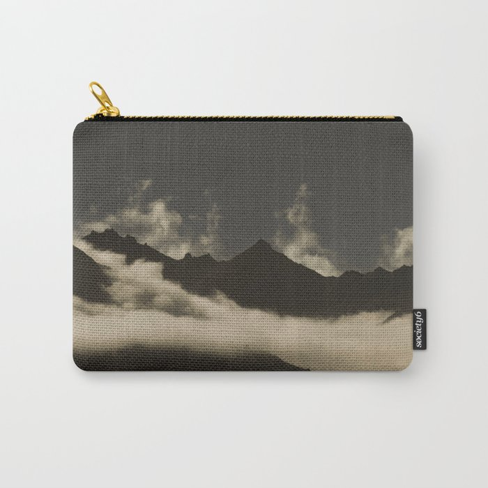 up in the mountains, down on my mind Carry-All Pouch